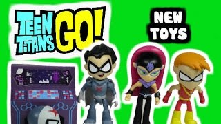 """TEEN TITANS GO! New Toys with Red X Starfire The Terrible & Speedy Robin """"Teen Titans Go Toy Review"""""""