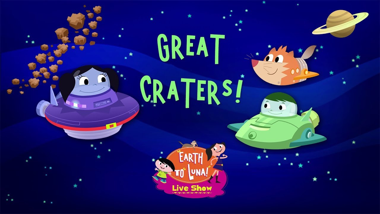 Download Earth to Luna! Live Show - Great Craters - Music Clip
