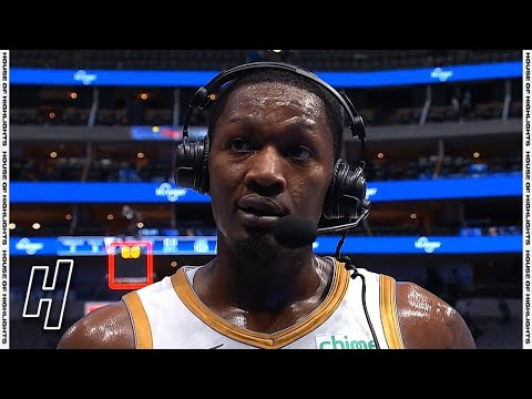 Dorian Finney-Smith SWEARS on Live TV, FUNNY Postgame Interview | April 5, 2021