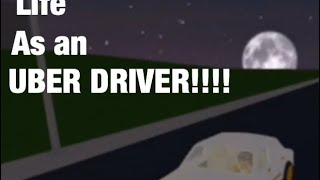 Being a Uber driver in Bloxburg!!!! - Roblox