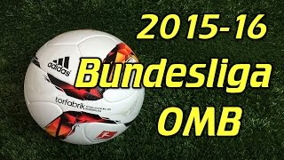 Adidas Torfabrik 2015-16 Bundesliga Official Match Ball Review