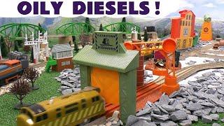 Thomas and Friends Evil Oily Diesel 10 Thomas Y Sus Amigos Toy Train Set Thomas Toys Trackmaster