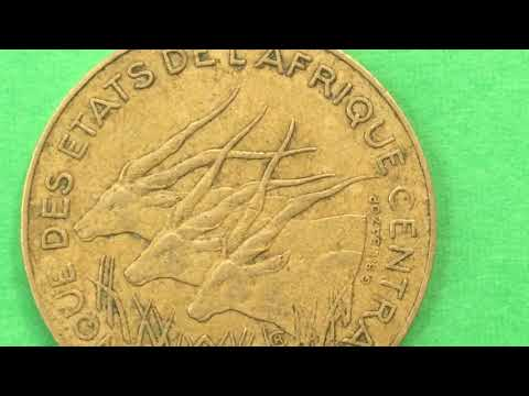 Central African States  1984 10 Franc Our Monday Morning African Video #3