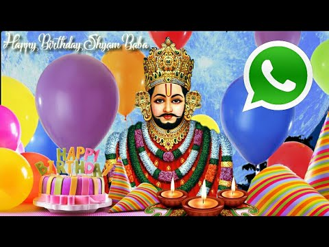 Shyam Baba Birthday Special Bhajan Whatsapp Status Video 19 November 2018