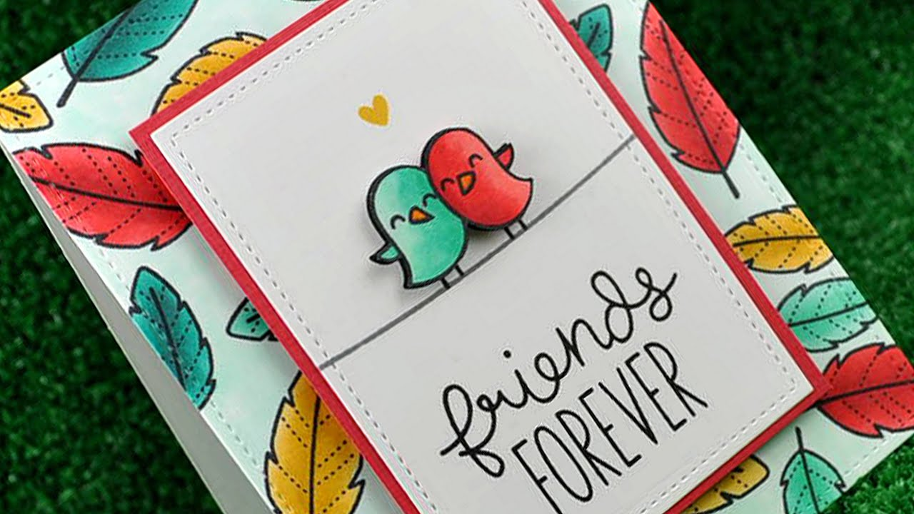 How to make a friendship card youtube how to make a friendship card kristyandbryce Images