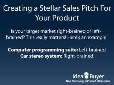 Creating a Sales Pitch for a Product - YouTube - product sales presentation