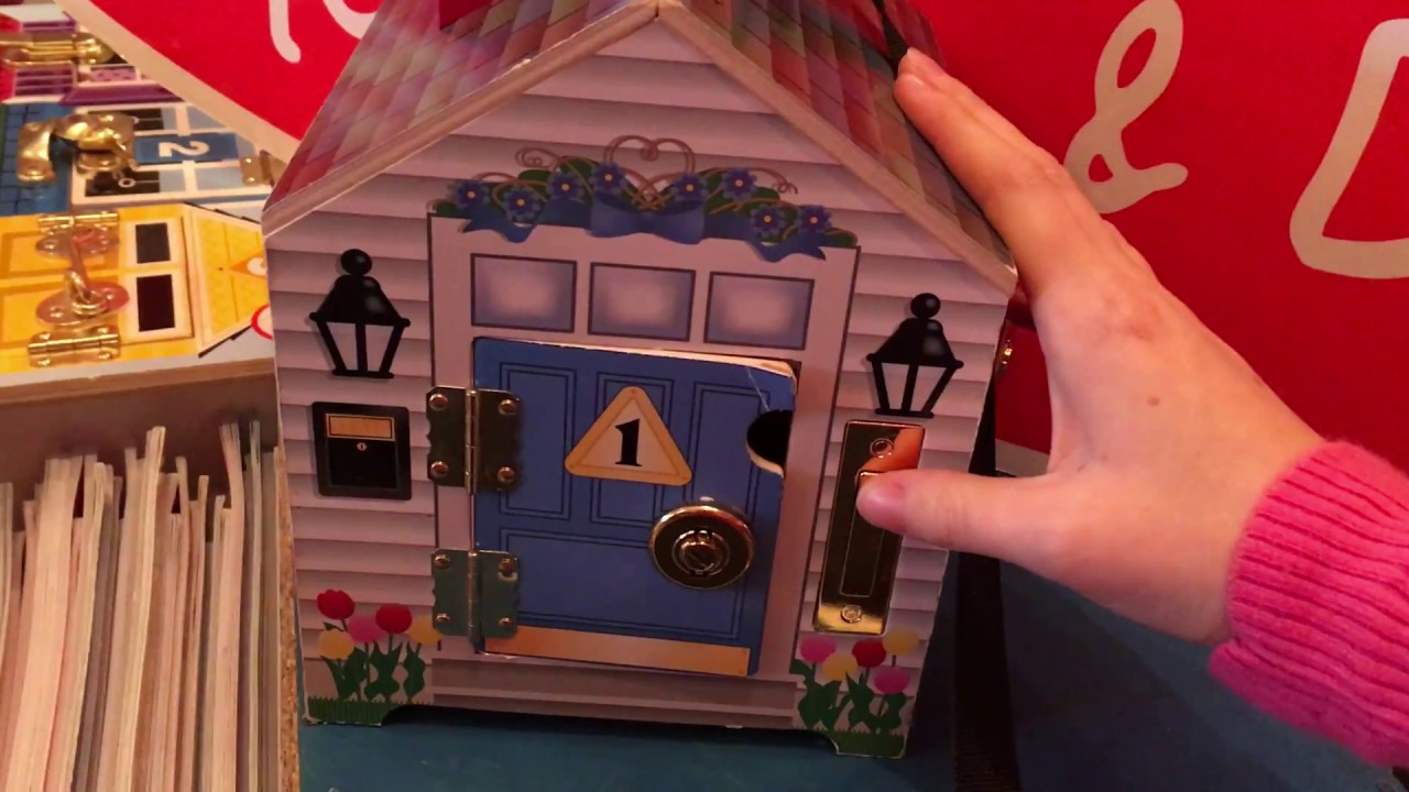 Wooden Doorbell House Early Learning Toy Melissa And Doug Review