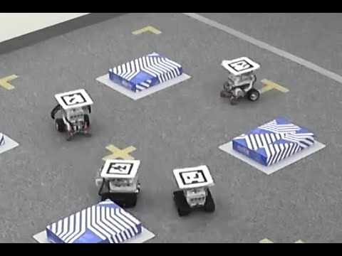 Robot Control with Distributed Deep Reinforcement Learning