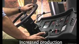 Immersive Technologies' Training Simulator for a Caterpillar Mining Haul Truck