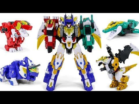 Dinocore Evolution 2 Dinobot Combine Ultimate KingDino Dragon Dinosaur Robot Toys