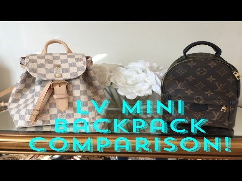 LV Mini Backpacks: Sperone BB vs. Palm Springs Mini Backpack Comparison