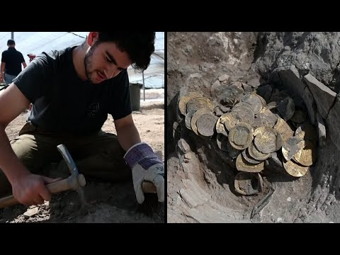 Teens Find 1,100-Year-Old Gold Coins In Israel Excavation