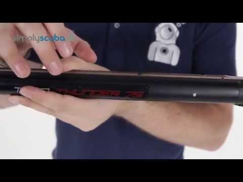 SEAC SUB Twin Thunder Sling Gun - www.simplyscuba.com