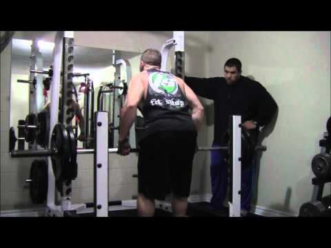 Personal trainer Ottawa - Intense back training