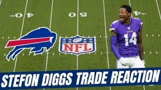 What does STEFON DIGGS bring to the BILLS?