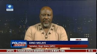 Magu Cannot Be Re-presented To The Senate  - Dino Melaye Pt 2