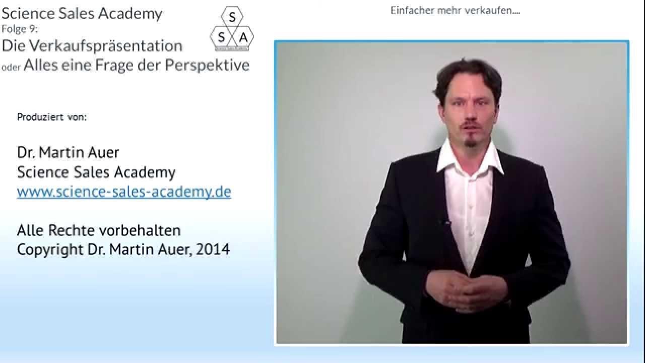 Dr. Martin Auer (9) - Verkaufspräsentation-Alles eine Frage der ...