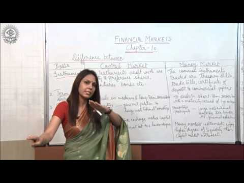 Diffrence between Capital Market and Money Market Class XII Bussiness Studies by Dr  Heena Rana