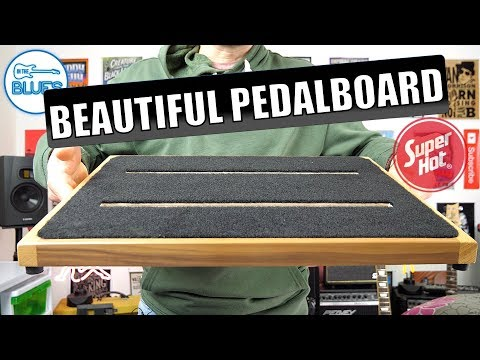 The Beautiful Ruach Pedalboard 2.5 & Gig Bag - Stunning Quality!