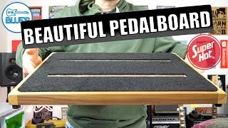 The Beautiful Ruach Pedalboard 2.5 & Gig Bag - Stunning Quality!