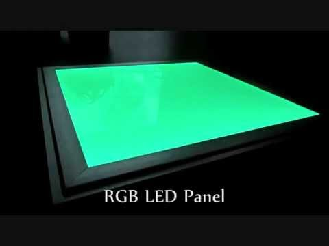 das liang international rgb led panel youtube. Black Bedroom Furniture Sets. Home Design Ideas