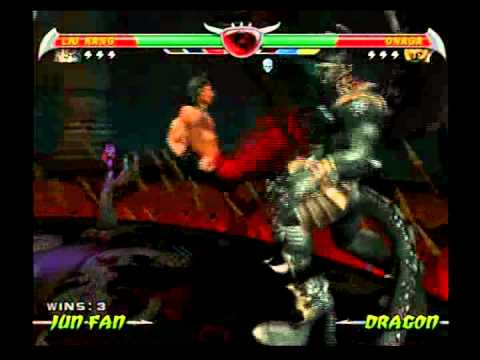 Mortal Kombat Deception - Liu Kang Vs Onaga - YouTube