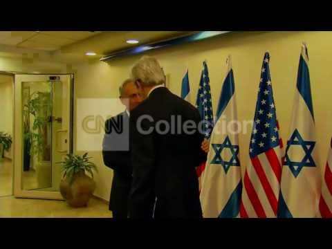 ISRAEL: KERRY MEETS NETANYAHU FOR PEACE TALKS