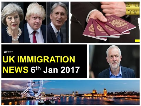 UK Immigration News 6th January 2017