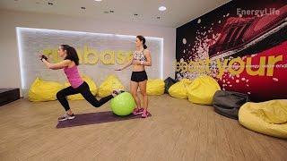 Наталья Шульга: фитбол, упражнения для похудения, EnergyLifeNL