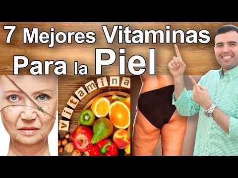 Vitaminas y Remedios Naturales Para la Piel - Luce Joven, Sin Manchas, Arrugas o Piel Seca