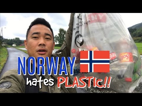 Vlog 5: WHAT DO WE DO WITH BOTTLES in NORWAY?