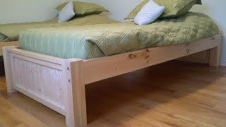 Twin Bed Frame | Twin Bed Frame and Headboard