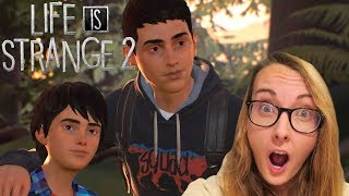 TRAILER REACTION AND THOUGHTS - Life Is Strange 2