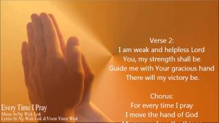 我以禱告來到你跟前  Every Time I Pray  - Josh Yeoh (Lyrics & Music : Wah Lok & Yuen Woh) thumbnail
