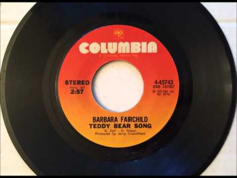 Teddy Bear Song , Barbara Fairchild , 1972 Vinyl 45RPM
