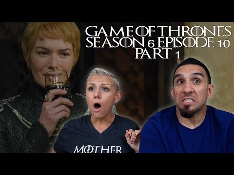 Game Of Thrones Season 6 Episode 10 'The Winds Of Winter' Part 1 REACTION!!