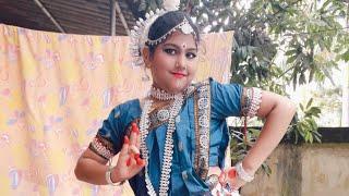 Kasturi Chahate Lo Odia Bhajan Dance By Shriyanshi.