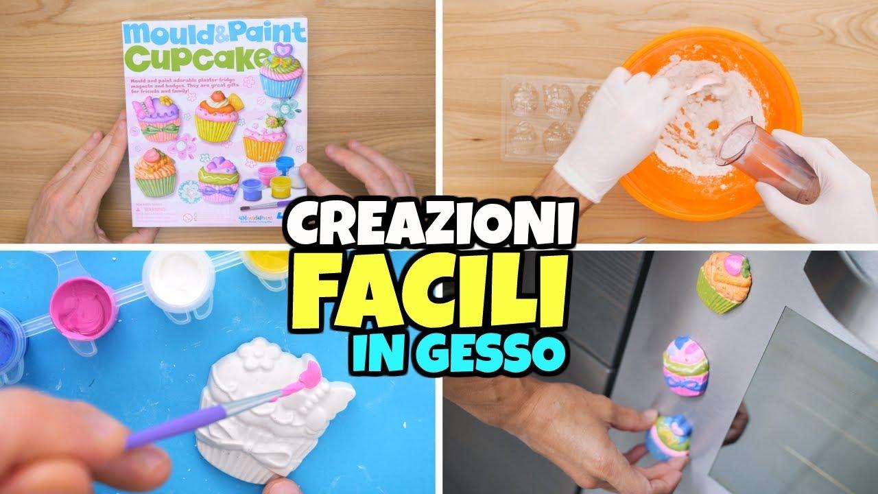 Creazioni in gesso facili da fare in casa facciamo cupcake youtube - Creazioni fai da te per la casa ...