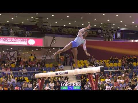 Simone Biles - Balance Beam - 2018 World Championships - Women's All-Around