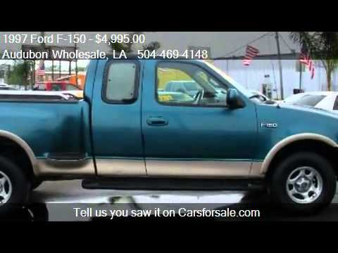 1997 Ford F150 Lariat 3dr Extended Cab Stepside SB for sale  YouTube