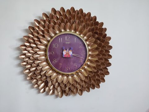 Wall Clock Decoration / Easy DIY / Wall clock design at home