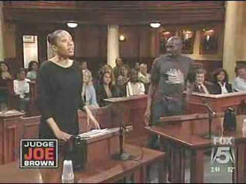 Crack Head On Judge Joe Brown