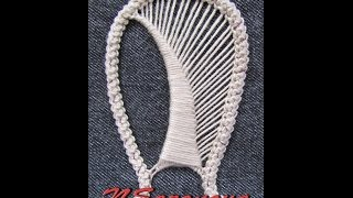 Румынское кружево (лепесток 1). Мастер-класс. Romanian lace. (petal) Tutorial.