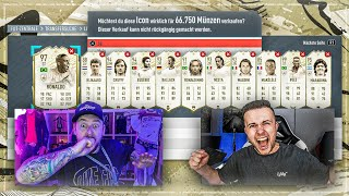 WTF Was Passiert hier ?! 🔥 ICON DISCARD BATTLE  😱 vs Gamerbrother FIFA 20