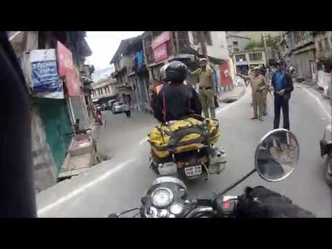 Himalaya - 2015 Ambala to Srinagar motor cycle adventure with Explore Indochina - Part 2