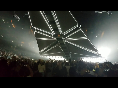The Weeknd - Opening + Starboy - Houston TX - Toyota Center