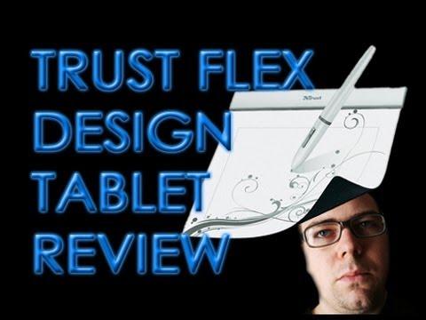 Trust Flex Design Tablet Review - £20 Graphics Tablet