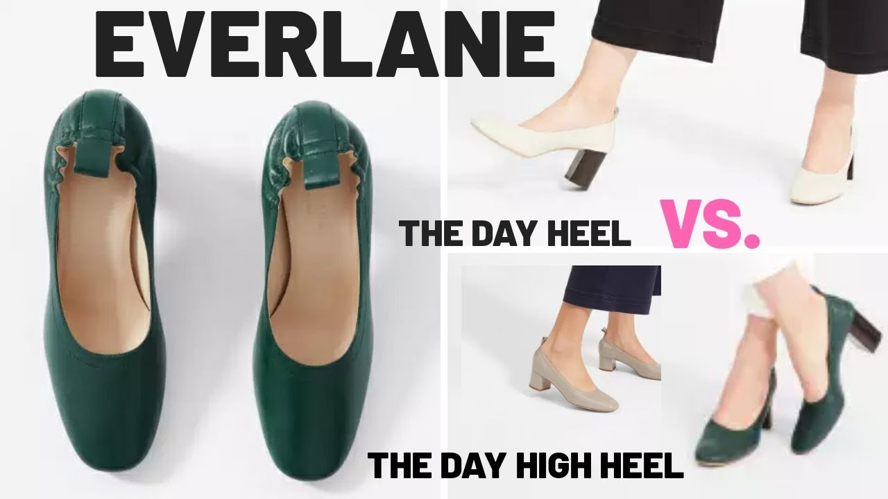 many choices of new arrivals outlet boutique EVERLANE REVIEW – The Day Heel Vs. The Day High Heel Comparison |  Alexastylebook
