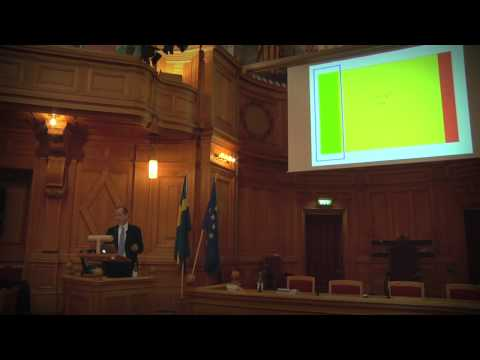 Lawrence Lessig lecture on copyright in the digital age at the Swedish Parliament