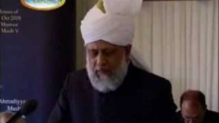 Khalifatul Massih's address to Houses of Parliament UK - 3/3